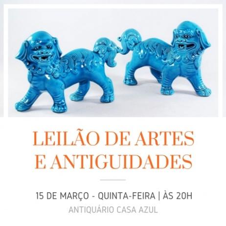 2º LEILÃO DE ARTE E ANTIGUIDADES - 15/03/2018