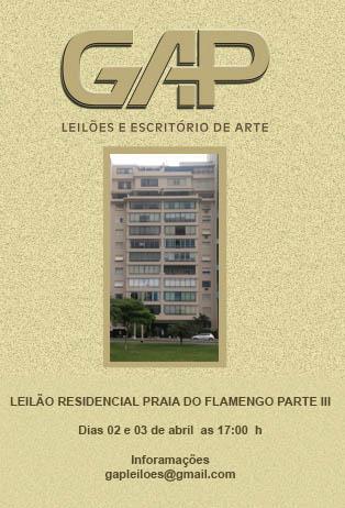 LEILÃO RESIDENCIAL PRAIA DO FLAMENGO PARTE III