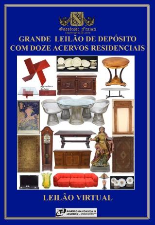 GRANDE  LEILÃO DE DEPÓSITO COM DOZE ACERVOS RESIDENCIAIS - JUNHO/2018
