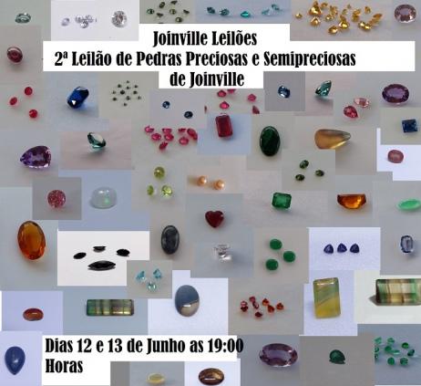 2ª Leilão de Pedras Preciosas e Semipreciosas