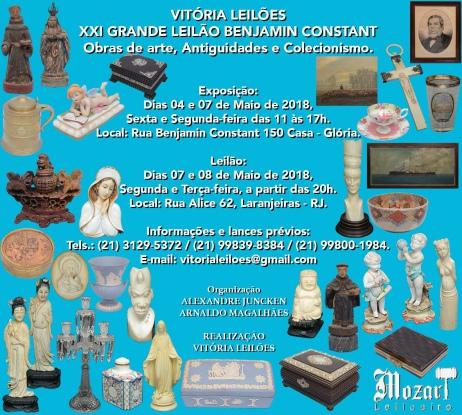 XXI Grande Leilão Benjamin Constant