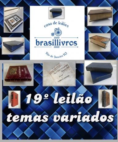 19º leilão brasillivros