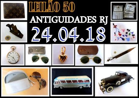 LEILÃO ANTIGUIDADES RJ  L
