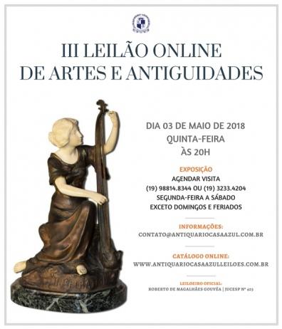 3º LEILÃO DE ARTES E ANTIGUIDADES