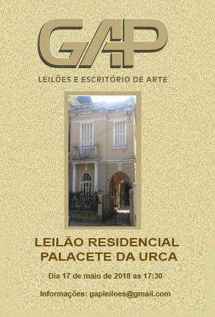 LEILÃO RESIDENCIAL PALACETE DA URCA