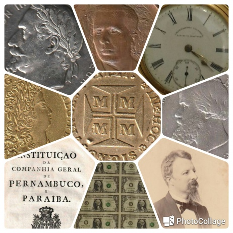 V LEILÃO DE COLECIONISMO (CÉDULAS, MOEDAS, MEDALHAS, MANUSCRITOS, DOCUMENTOS, LIVROS, ETC)