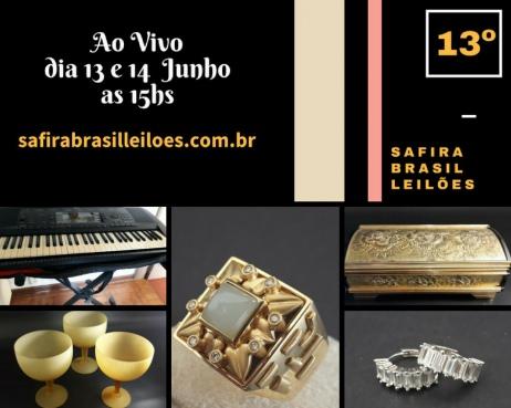 XIII- Safira Brasil Leilões
