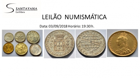 LEILÃO NUMISMÁTICA SANTAYANA