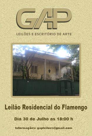 LEILÃO RESIDENCIAL DO FLAMENGO
