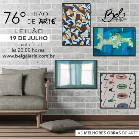 76º Leilão Bel Galeria de Arte