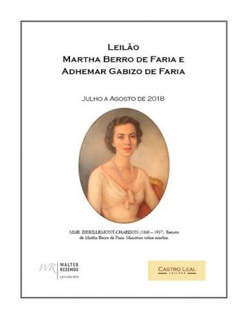 Leilão Martha Berro de Faria e Adhemar Gabizo de Faria