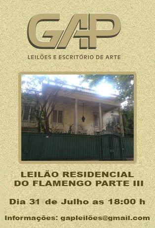 LEILÃO RESIDENCIAL DO FLAMENGO PARTE III
