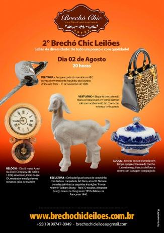 2º BRECHÓ CHIC LEILÕES - Leilão da Diversidade