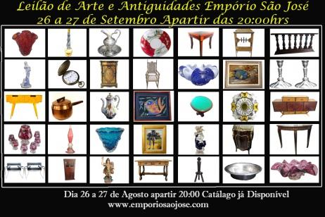 LEILÃO DE ARTE E ANTIGUIDADES EMPÓRIO SÃO JOSÉ - 9705