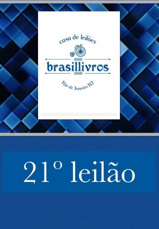 21º Leilão Brasillivros
