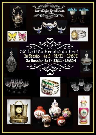 33º GRANDE LEILÃO BRECHÓ DO FREI