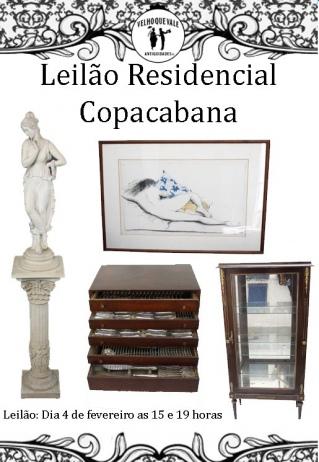 Leilão Residencial Copacabana