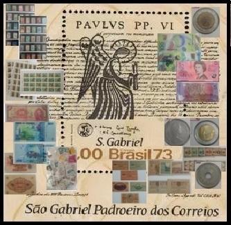 6º LEILÃO SÃO GABRIEL DE SELOS - MOEDAS- SELOS E CEDULAS  UM PRAZER EM COLECIONAR!