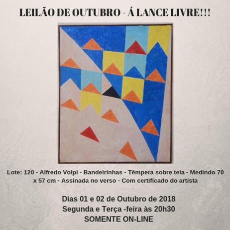 LEILÃO DE OUTUBRO -  Á LANCE LIVRE!!!